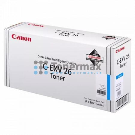 Canon C-EXV26, 1659B006, poškozený obal, originální toner pro tiskárny Canon imageRUNNER C1021i, iRC1021i, imageRUNNER C1021iF, iRC1021iF, imageRUNNER C1028i, iRC1028i, imageRUNNER C1028iF, iRC1028iF