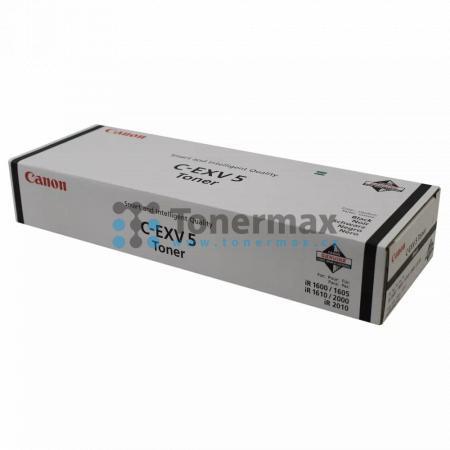 Canon C-EXV5, 6836A002, originální toner pro tiskárny Canon iR1600, iR-1600, iR1605, iR-1605, iR1610F, iR-1610F, iR2000, iR-2000, iR2010F, iR-2010F