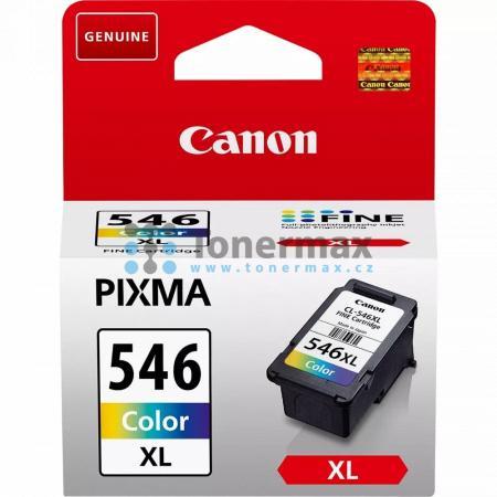Canon CL-546XL, 8288B001, originální cartridge pro tiskárny Canon PIXMA MG2450, PIXMA MG2455, PIXMA MG2550, PIXMA MG2550S, PIXMA MG2555, PIXMA MG2950, PIXMA MG2950s, PIXMA MG2955, PIXMA MG3050, PIXMA MG3051, PIXMA MG3052, PIXMA MG3053, PIXMA MX495, PIXMA