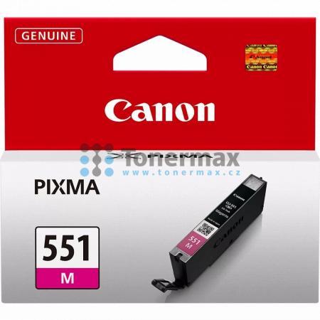 Canon CLI-551 M, CLI-551M, 6510B001, originální cartridge pro tiskárny Canon PIXMA MG5450, PIXMA MG5550, PIXMA MG5650, PIXMA MG5655, PIXMA MG6350, PIXMA MG6450, PIXMA MG6650, PIXMA MG7150, PIXMA MG7550, PIXMA MX725, PIXMA MX925, PIXMA iP7250, PIXMA iP8750