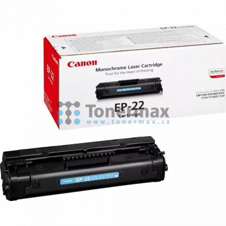 Canon EP-22, 1550A003, originální toner pro tiskárny Canon LBP250, LBP-250, LBP350, LBP-350, LBP800, LBP-800, LBP810, LBP-810, LBP1110, LBP-1110, LBP1110se, LBP-1110se, LBP1120, LBP-1120