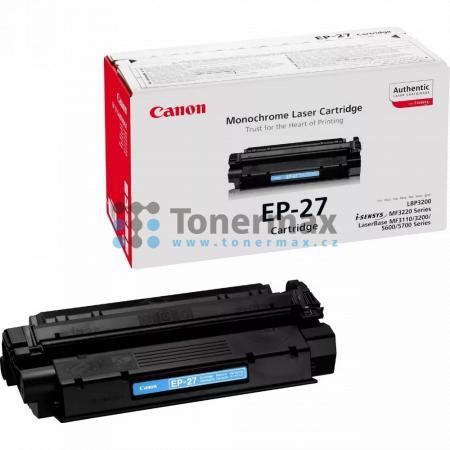 Canon EP-27, 8489A002, originální toner pro tiskárny Canon LaserBase MF3110, MF3110, LaserBase MF3220, MF3220, LaserBase MF3228, MF3228, LaserBase MF3240, MF3240, LaserBase MF5630, MF5630, LaserBase MF5650, MF5650, LaserBase MF5730, MF5730, LaserBase MF57