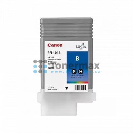 Canon PFI-101B, 0891B001, originální cartridge pro tiskárny Canon iPF5000, iPF5100, iPF6100, iPF6200