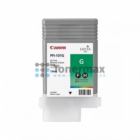 Canon PFI-101G, 0890B001, originální cartridge pro tiskárny Canon iPF5000, iPF5100, iPF6100, iPF6200