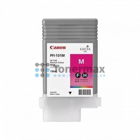 Canon PFI-101M, 0885B001, originální cartridge pro tiskárny Canon iPF5000, iPF5100, iPF6000S, iPF6100, iPF6200