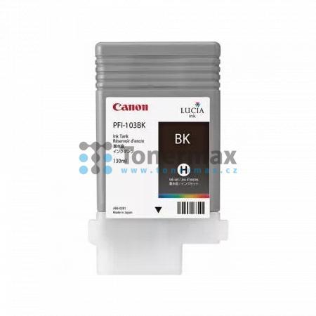 Canon PFI-103BK, 2212B001, originální cartridge pro tiskárny Canon iPF5100, iPF6100, iPF6200
