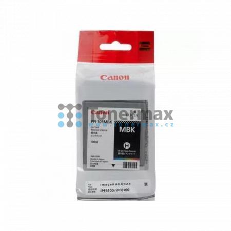 Canon PFI-103MBK, 2211B001, originální cartridge pro tiskárny Canon iPF5100, iPF6100, iPF6200