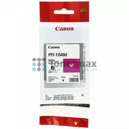 Canon PFI-104M, 3631B001, originální cartridge pro tiskárny Canon iPF650, iPF655, iPF750, iPF755, iPF760, iPF765