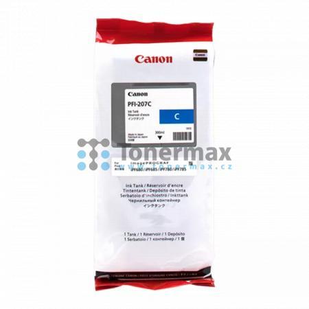 Canon PFI-207C, 8790B001, originální cartridge pro tiskárny Canon iPF680, imagePROGRAF iPF680, iPF-680, iPF685, imagePROGRAF iPF685, iPF-685, iPF780, imagePROGRAF iPF780, iPF-780, iPF785, imagePROGRAF iPF785, iPF-785