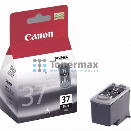Canon PG-37, 2145B001, originální cartridge pro tiskárny Canon PIXMA MP140, PIXMA MP190, PIXMA MP210, PIXMA MP220, PIXMA MP470, PIXMA MX300, PIXMA MX310, PIXMA iP1800, PIXMA iP1900, PIXMA iP2500, PIXMA iP2600