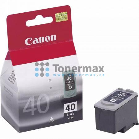 Canon PG-40, 0615B001, originální cartridge pro tiskárny Canon Fax-JX200, Fax-JX210P, Fax-JX500, Fax-JX510P, PIXMA MP140, PIXMA MP150, PIXMA MP160, PIXMA MP170, PIXMA MP180, PIXMA MP190, PIXMA MP210, PIXMA MP220, PIXMA MP450, PIXMA MP450x, PIXMA MP460, PI