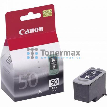 Canon PG-50, 0616B001, originální cartridge pro tiskárny Canon Fax-JX200, Fax-JX210P, Fax-JX500, Fax-JX510P, PIXMA MP150, PIXMA MP160, PIXMA MP170, PIXMA MP180, PIXMA MP450, PIXMA MP450x, PIXMA MP460, PIXMA MX300, PIXMA MX310, PIXMA iP2200