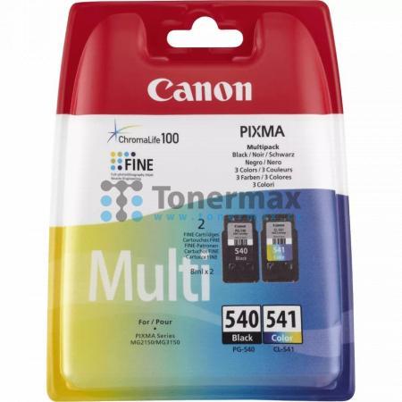 Canon PG-540 + CL-541 Multi-Pack, 5225B006, originální cartridge pro tiskárny Canon PIXMA MG2150, PIXMA MG2250, PIXMA MG2255, PIXMA MG3150, PIXMA MG3155, PIXMA MG3250, PIXMA MG3255, PIXMA MG3550, PIXMA MG3650, PIXMA MG4150, PIXMA MG4250, PIXMA MX375, PIXM