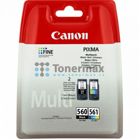 Cartridge Canon PG-560 + CL-561, Multi-Pack, 3713C006