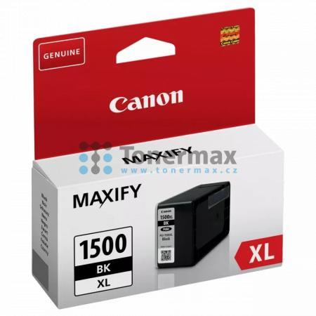 Canon PGI-1500XL BK, 9182B001, originální cartridge pro tiskárny Canon MAXIFY MB2050, MAXIFY MB2150, MAXIFY MB2155, MAXIFY MB2350, MAXIFY MB2750, MAXIFY MB2755