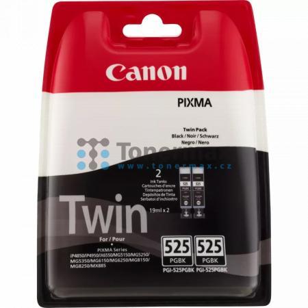 Canon PGI-525PGBk, 4529B006, Twin-Pack, originální cartridge pro tiskárny Canon PIXMA MG5150, PIXMA MG5250, PIXMA MG5350, PIXMA MG6150, PIXMA MG6250, PIXMA MG8150, PIXMA MG8250, PIXMA MX715, PIXMA MX885, PIXMA MX895, PIXMA iP4850, PIXMA iP4950, PIXMA iX65