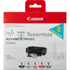 Canon PGI-9 MBK/PC/PM/R/G, 1033B013, Multi Pack