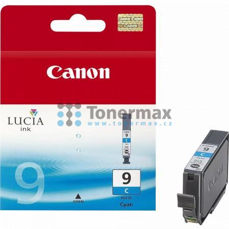Canon PGI-9C, 1035B001, originální cartridge pro tiskárny Canon PIXMA MX7600, PIXMA Pro9500, PIXMA Pro9500 Mark II, PIXMA iX7000
