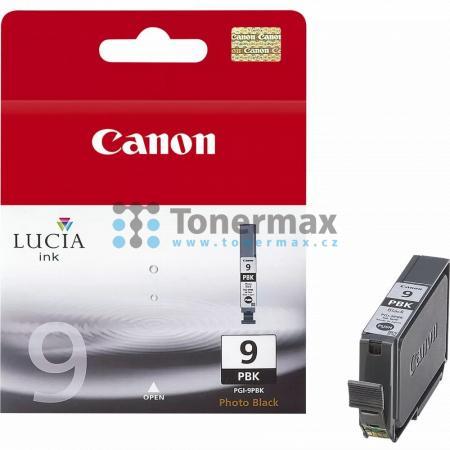 Canon PGI-9PBk, 1034B001, originální cartridge pro tiskárny Canon PIXMA MX7600, PIXMA Pro9500, PIXMA Pro9500 Mark II, PIXMA iX7000