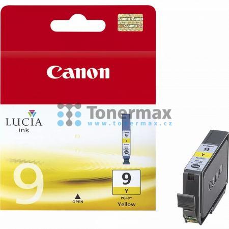 Canon PGI-9Y, 1037B001, originální cartridge pro tiskárny Canon PIXMA MX7600, PIXMA Pro9500, PIXMA Pro9500 Mark II, PIXMA iX7000