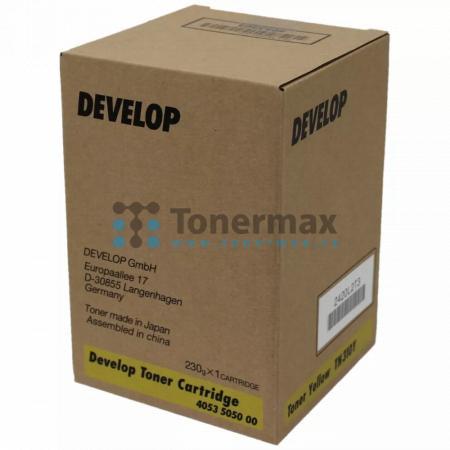 Develop TN310Y, TN-310Y, 4053 5050 00, originální toner pro tiskárny Develop QC 2235+, ineo+ 350, ineo+ 450, ineo+ 450P