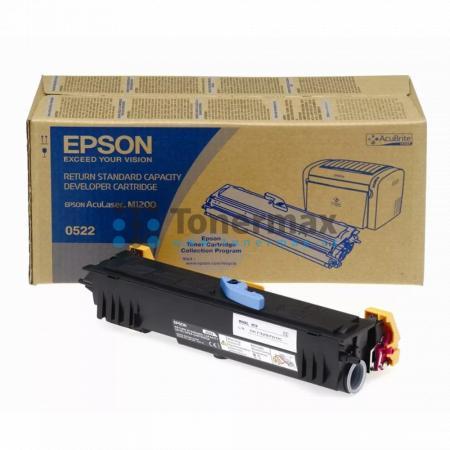 Epson 0522, C13S050522, return, originální toner pro tiskárny Epson AcuLaser M1200