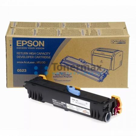 Epson 0523, C13S050523, return, originální toner pro tiskárny Epson AcuLaser M1200