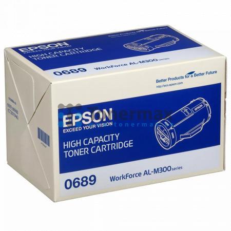 Epson 0689, C13S050689, originální toner pro tiskárny Epson AL-M300, WorkForce AL-M300, AL-M300D, WorkForce AL-M300D, AL-M300DN, WorkForce AL-M300DN, AL-M300DT, WorkForce AL-M300DT, AL-M300DTN, WorkForce AL-M300DTN, AL-MX300, WorkForce AL-MX300, AL-MX300D
