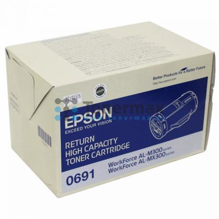 Epson 0691, C13S050691, return, originální toner pro tiskárny Epson AL-M300, WorkForce AL-M300, AL-M300D, WorkForce AL-M300D, AL-M300DN, WorkForce AL-M300DN, AL-M300DT, WorkForce AL-M300DT, AL-M300DTN, WorkForce AL-M300DTN, AL-MX300, WorkForce AL-MX300, A