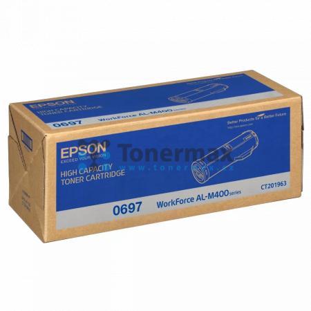 Epson 0697, C13S050697, originální toner pro tiskárny Epson AL-M400, WorkForce AL-M400, AL-M400DN, WorkForce AL-M400DN, AL-M400DTN, WorkForce AL-M400DTN