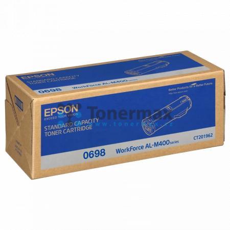 Epson 0698, C13S050698, originální toner pro tiskárny Epson AL-M400, WorkForce AL-M400, AL-M400DN, WorkForce AL-M400DN, AL-M400DTN, WorkForce AL-M400DTN