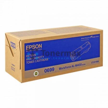 Epson 0699, C13S050699, return, originální toner pro tiskárny Epson AL-M400, WorkForce AL-M400, AL-M400DN, WorkForce AL-M400DN, AL-M400DTN, WorkForce AL-M400DTN
