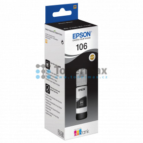 Epson 106, C13T00R140, ink bottle