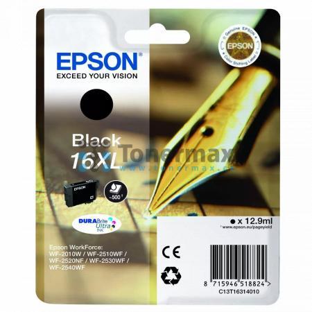 Epson 16XL, C13T16314010, originální cartridge pro tiskárny Epson WF-2010W, WorkForce WF-2010W, WF-2510, WorkForce WF-2510, WF-2510WF, WorkForce WF-2510WF, WF-2520, WorkForce WF-2520, WF-2520NF, WorkForce WF-2520NF, WF-2530, WorkForce WF-2530, WF-2530WF,