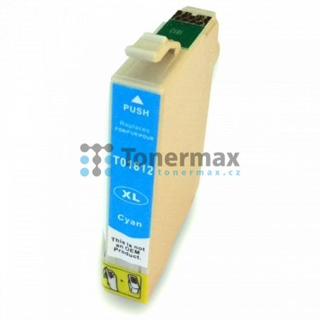 Epson 18XL, C13T18124010, kompatibilní cartridge pro tiskárny Epson XP-30, Expression Home XP-30, XP-102, Expression Home XP-102, XP-202, Expression Home XP-202, XP-205, Expression Home XP-205, XP-212, Expression Home XP-212, XP-215, Expression Home XP-21