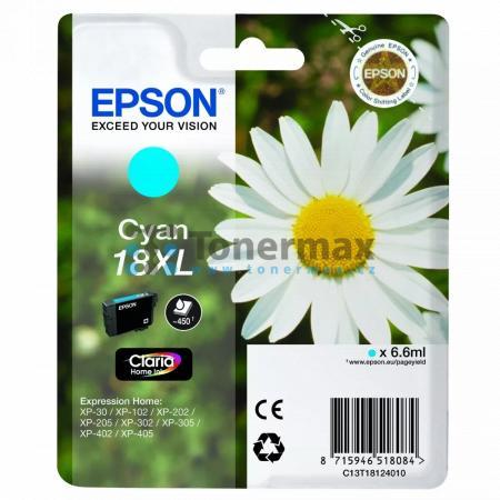 Epson 18XL, C13T18124010, originální cartridge pro tiskárny Epson XP-30, Expression Home XP-30, XP-102, Expression Home XP-102, XP-202, Expression Home XP-202, XP-205, Expression Home XP-205, XP-212, Expression Home XP-212, XP-215, Expression Home XP-215,