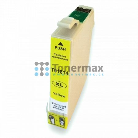 Epson 18XL, C13T18144010, kompatibilní cartridge pro tiskárny Epson XP-30, Expression Home XP-30, XP-102, Expression Home XP-102, XP-202, Expression Home XP-202, XP-205, Expression Home XP-205, XP-212, Expression Home XP-212, XP-215, Expression Home XP-21