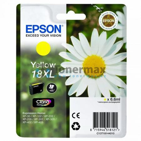 Epson 18XL, C13T18144010, originální cartridge pro tiskárny Epson XP-30, Expression Home XP-30, XP-102, Expression Home XP-102, XP-202, Expression Home XP-202, XP-205, Expression Home XP-205, XP-212, Expression Home XP-212, XP-215, Expression Home XP-215,