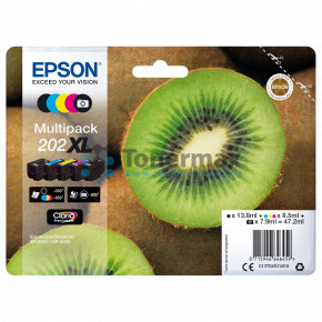Epson 202XL, C13T02G74010, multipack