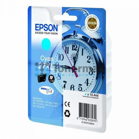 Epson 27XL, C13T27124010, originální cartridge pro tiskárny Epson WF-3620, WF-3640, WF-7110, WF-7610, WF-7620, WorkForce WF-3620, WorkForce WF-3620DWF, WorkForce WF-3640, WorkForce WF-3640DTWF, WorkForce WF-7110, WorkForce WF-7110DTW, WorkForce WF-7610, W