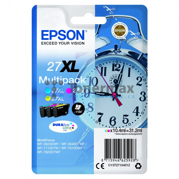 epson 27xl c13t27154012 multipack cartridge. Black Bedroom Furniture Sets. Home Design Ideas