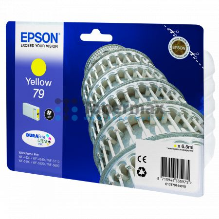 Epson 79, C13T79144010, originální cartridge pro tiskárny Epson WF-4630, WorkForce Pro WF-4630, WF-4630DWF, WorkForce Pro WF-4630DWF, WF-4640, WorkForce Pro WF-4640, WF-4640DTWF, WorkForce Pro WF-4640DTWF, WorkForce Pro WF-5110, WorkForce Pro WF-5110DW, W