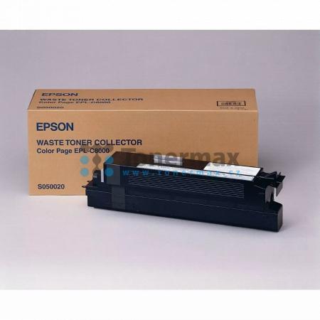 Epson S050020, C13S050020, odpadní nádobka, originální pro tiskárny Epson AcuLaser C8500, AcuLaser C8500PS, AcuLaser C8600, AcuLaser C8600PS, AcuLaser Color Station 8600, AcuLaser Color Station 8600+, EPL-C8000, EPL-C8200, EPL-C8200PS