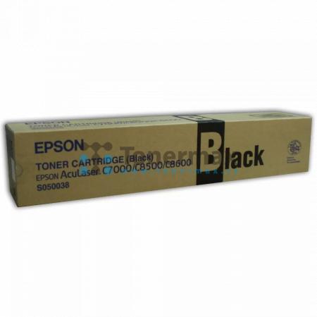 Epson S050038, C13S050038, originální toner pro tiskárny Epson AcuLaser C8500, AcuLaser C8500PS, AcuLaser C8600, AcuLaser C8600PS, AcuLaser Color Station 8600, AcuLaser Color Station 8600+