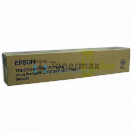 Epson S050039, C13S050039, originální toner pro tiskárny Epson AcuLaser C8500, AcuLaser C8500PS, AcuLaser C8600, AcuLaser C8600PS, AcuLaser Color Station 8600, AcuLaser Color Station 8600+