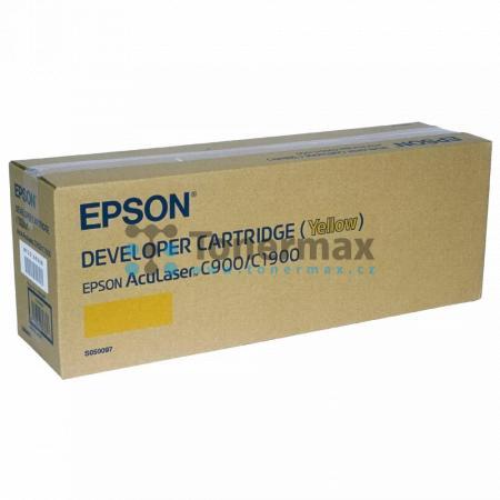 Epson S050097, C13S050097, originální toner pro tiskárny Epson AcuLaser C900, AcuLaser C900N, AcuLaser C1900, AcuLaser C1900D, AcuLaser C1900PS, AcuLaser C1900S, AcuLaser C1900WiFi
