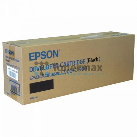 Epson S050100, C13S050100, poškozený obal, originální toner pro tiskárny Epson AcuLaser C900, AcuLaser C900N, AcuLaser C1900, AcuLaser C1900D, AcuLaser C1900PS, AcuLaser C1900S, AcuLaser C1900WiFi