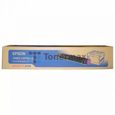 Epson S050196, C13S050196, originální toner pro tiskárny Epson AcuLaser C9100, AcuLaser C9100B, AcuLaser C9100DT, AcuLaser C9100PS