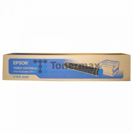 Epson S050197, C13S050197, originální toner pro tiskárny Epson AcuLaser C9100, AcuLaser C9100B, AcuLaser C9100DT, AcuLaser C9100PS