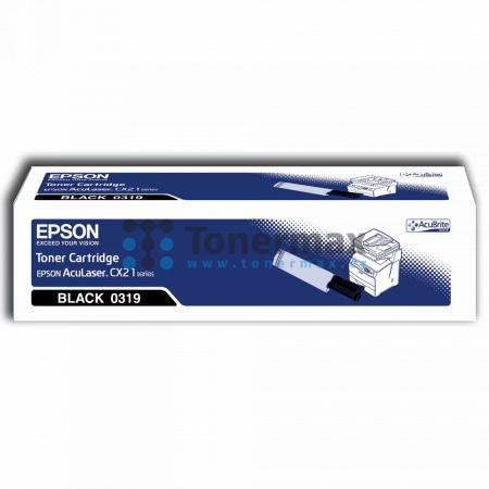 Epson S050319, C13S050319, originální toner pro tiskárny Epson AcuLaser CX21N, AcuLaser CX21NC, AcuLaser CX21NF, AcuLaser CX21NFC, AcuLaser CX21NFCT, AcuLaser CX21NFT